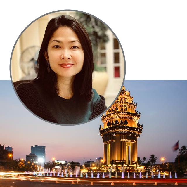 Monika Chum, Country Manager, Cambodia