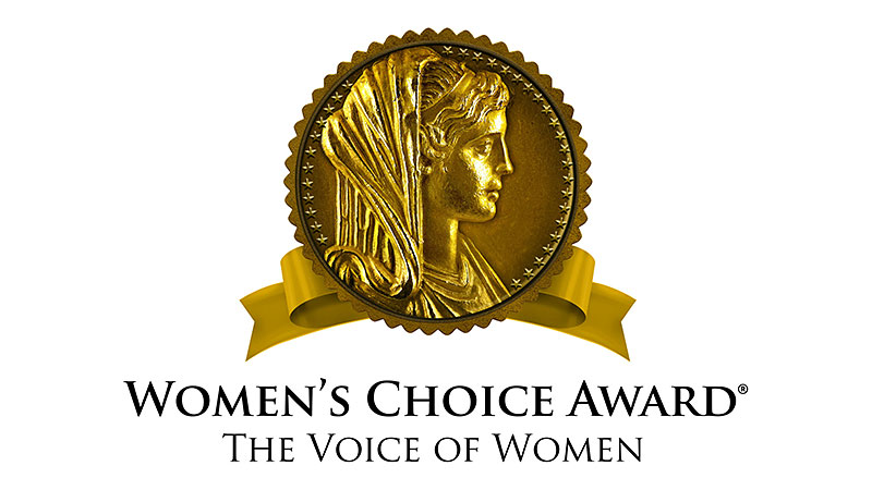 Women's Choice Award logo.